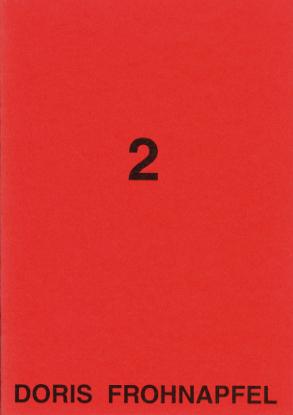 Booklet, text by Inka Schube, Fotogalerie in der Brotfabrik, Berlin, 1993